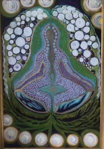 Arasatma breath, 3'x2' framed $250